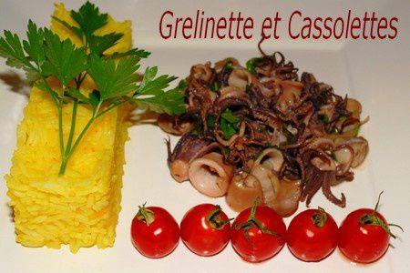 céphalopodes utilisés en cuisine