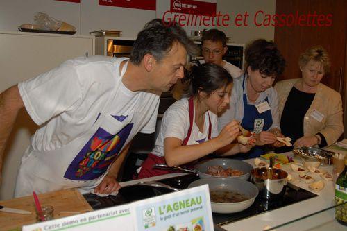 Le premier salon du blog culinaire de bruxelles grelinette et cassolettes - Commis de cuisine bruxelles ...