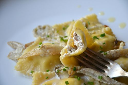 Raviolis cèpes endives12