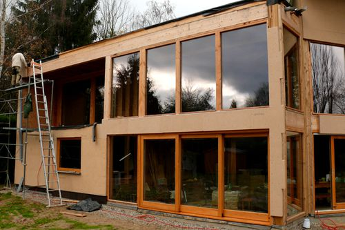 mard 2311 pose panneaux Inthermo facade Sud-Ouest