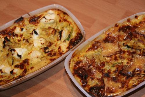 gratin courgettes fromage