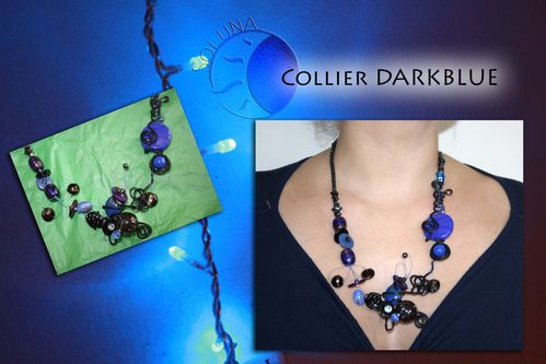 Collier Darkblue