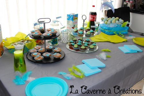 Organisation d 39 une baby shower 2 me dition le blog de la caverne a - Decoration de table originale ...