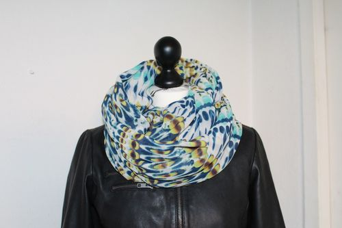 snood col tube tour de cou foulard