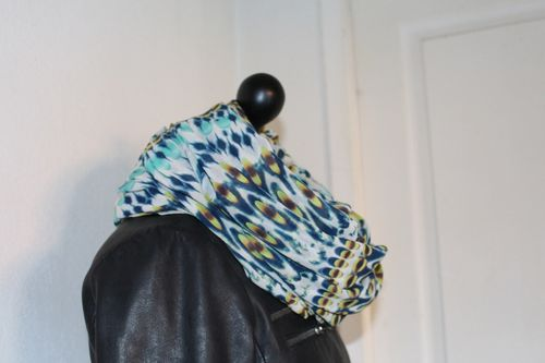 snood col tube tour de cou foulard1