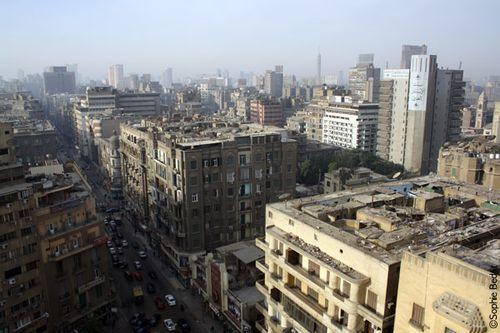 Talaat Harb, Le Caire
