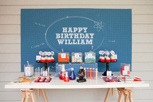 Science Inspired Boys Party