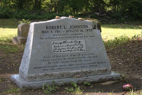 tombe de Robert Johnson