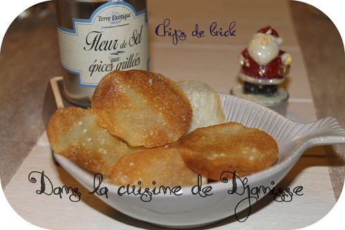 Chips à la fleur de sel