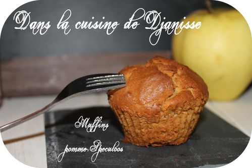 Muffins pommes speculoos