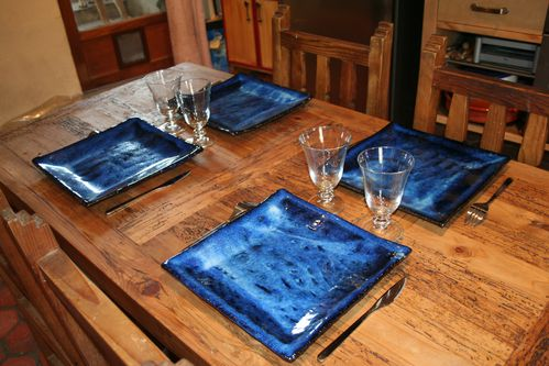 table bleue vois lactee