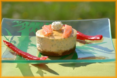 cheese cake saumon 1