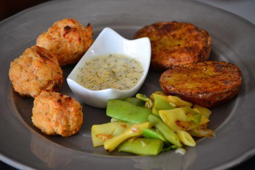 Boulettes saumon