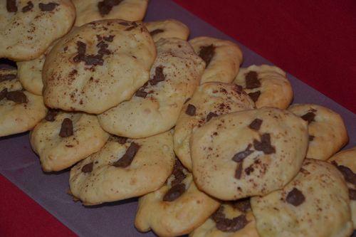 Cookies pommes choco 2