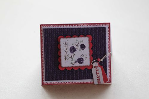 carte cadeau Stampin'Up!