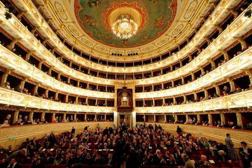 sport e civiltà teatro regio di Parma