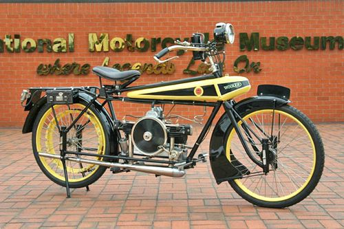 1919 wooler flying-banana national Motorcycle Museum