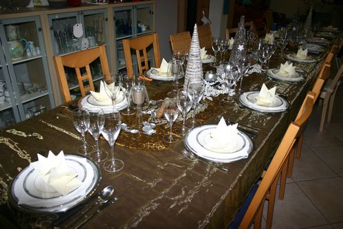 Ma d co de nouvel an 2011 le blog de lucia - Deco table reveillon nouvel an ...