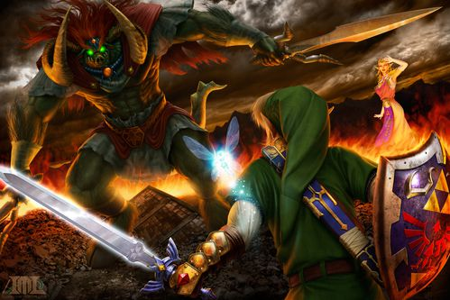 battle for the triforce iii by mattleese87-d5673th