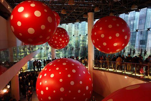 Expo à Shanghai - Kusama Yayoi