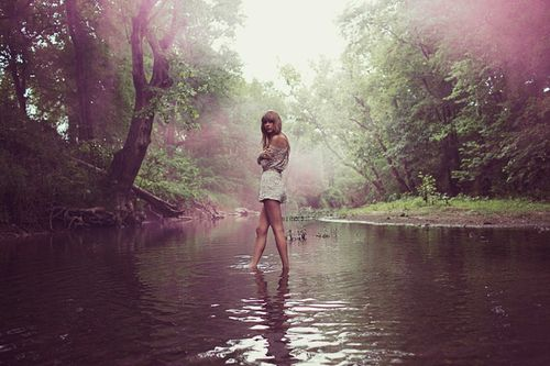 taylor swift beautiful all too well red water forest nature