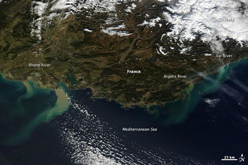 satelitte NASA janvier14pollution pluies