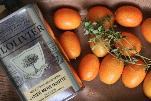Aubergines rôties au four aux kumquats et au thym 2s
