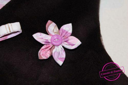fleur gilet Paola