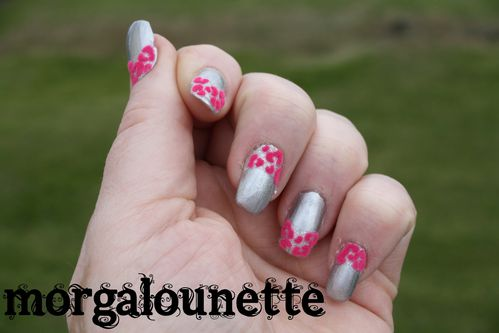 nail art morgalounette fluffy