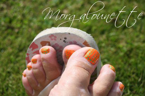 nail art pied morgalounette
