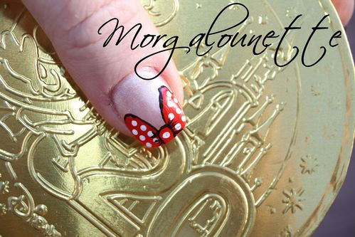 nail art disney morgalounette