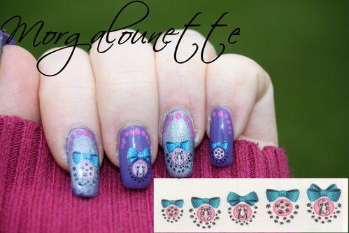 nail art WD chat morgalounette (8)