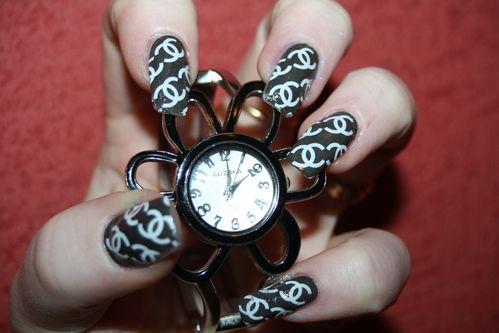 nail art WD coco chanel morgalounette (6)