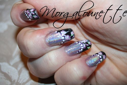 nail art french fleuri morgalounette WD beautedesign-shop (