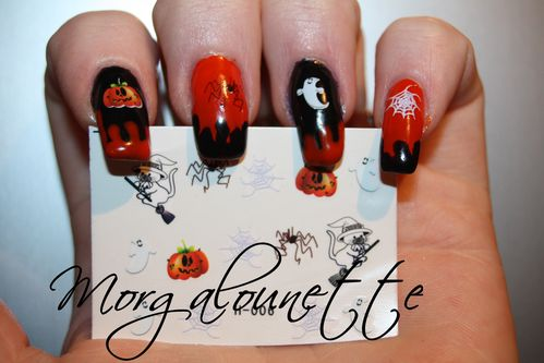 nail art halloween morgalounette WD lm cosmetic (4)
