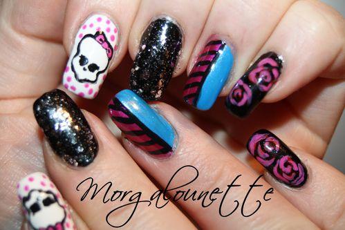 nail art monster high (4)