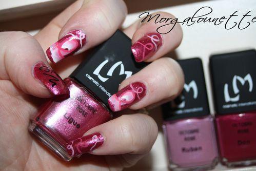 nail art octobre rose morgalounette (5)