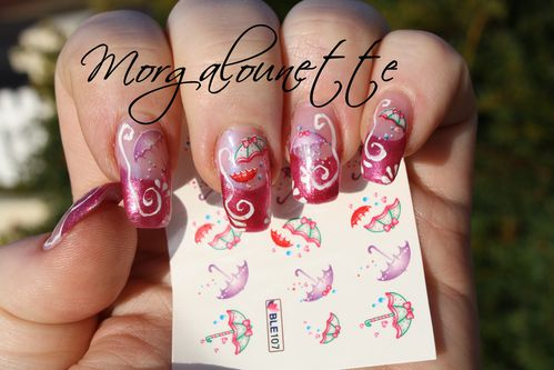 nail art parapluie beautedesign-shop morgalounette (2)