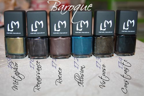 collection baroque LM Cosmetic by Morgalounette (1)