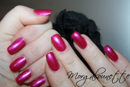 swatch pink rose metal claire's morgalounette (4)