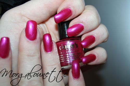 swatch pink rose metal claire's morgalounette (5)