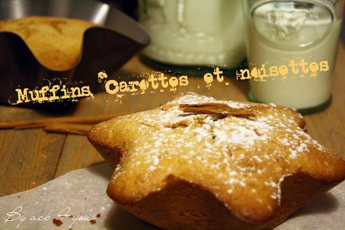 muffin carotte noisettes a