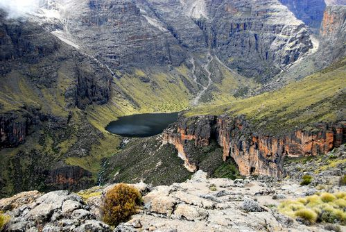 descente du mt Kenya (lac Mickaelson)