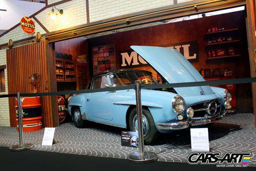 Mercedes stand Motul