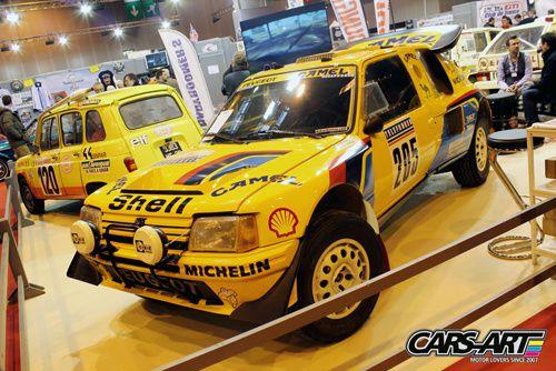Peugeot 205 rallye Dakar