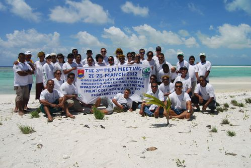 Kiritimati mars 2012 PILN team