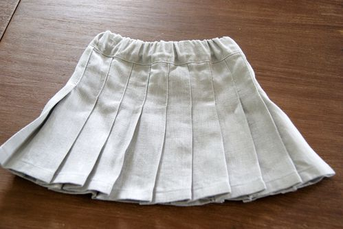 girly pleated skirt 2