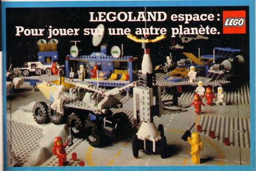 Pub Lego 1982 (journal de Mickey n-¦ 1583 - octobre 1982)