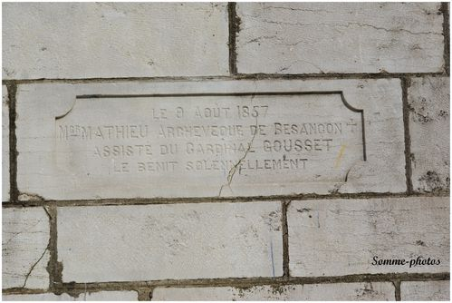 inscription N D de la Motte Vesoul