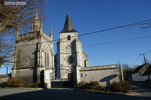 église St Pierre Wailly Beaucamps (62)